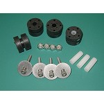 Electric Soft Motor Mount Rubber Isolator - Package of 4